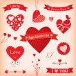 Love Banners and Labels — Stock Vector #39995113