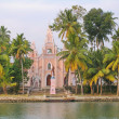 Stock Photo: IndiCatholic сhurch in Kerala, India.