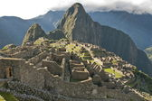 Ancient Inca lost city Machu Picchu. — Stock Photo