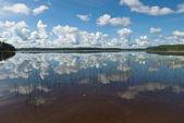Summer day on Kenozero Lake in North Russia. — Stock Photo