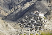 Chemrey Gompa in Ladakh, India. — Stock Photo