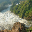 The Victoria Nile River after The Murchison Falls, Uganda. — Stock Photo #40454539