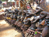 Traditional souvenirs, Omo Valley, Ethiopia. — Stock Photo