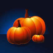 Pumpkins — Vector de stock