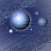 синий пространство — Cтоковый вектор