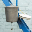 Stock Photo: Rural  washbasin