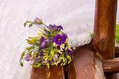Wedding bouquet — Stockfoto