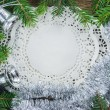 图库照片: Christmas. Christmas Decoration Holiday Decorations Isolated on