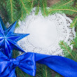 Stock Photo: Christmas. Christmas Decoration Holiday Decorations Isolated on