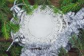 Christmas. Christmas Decoration Holiday Decorations Isolated on — Stock Photo