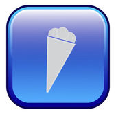 Ice cream - Vector icon — Stock Vector