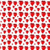 Corazón rojo — Vector de stock