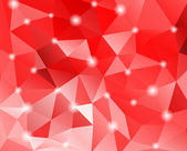 Abstract geometric background with polygons. — Stock vektor