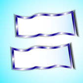 Graphic blue background for text and message — Stock Vector