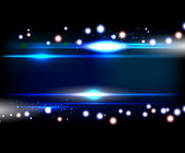 голубой гладкий технологии линии света векторный фон. — Cтоковый вектор