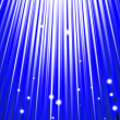 Stars are falling on the background of blue rays. — Stock Photo #46165779