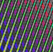 抽象插图飞溅彩色发光背景 — 图库照片