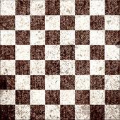 Vintage eski boş satranç tahtası çizilmiş — Stok Vektör