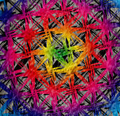 Bright grunge textured background — Stock Vector