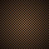 Light brown metal background — Vettoriale Stock