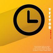 Watch icon. flat modern design — Stock Vector