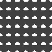 Cloud download application web icon.flat design. Seamless pattern. — Wektor stockowy