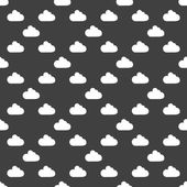 Cloud download application web icon.flat design. Seamless pattern. — Stock Vector