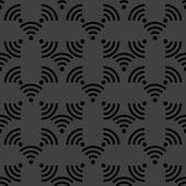 иконка интернет wi-fi. плоский дизайн. серый фон. — Cтоковый вектор