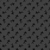 Football player web icon. flat design. Seamless gray pattern. — Stock Vector