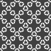 Processing web icon. flat design. Seamless gray pattern. — Vetorial Stock