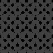 Wieża tkanina ikona. płaska konstrukcja. szary wzór. — Wektor stockowy