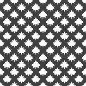 Maple Leaf wb icon. flat design. Seamless gray pattern. — Vettoriale Stock