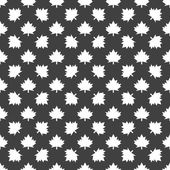 Maple Leaf wb icon. flat design. Seamless gray pattern. — Vetorial Stock