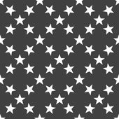 Star web icon. flat design. Seamless gray pattern. — Stock Vector