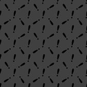 The exclamation point web icon. flat design. Seamless gray pattern. — Stok Vektör