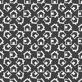 House web icon. flat design. Seamless pattern. — Vetorial Stock