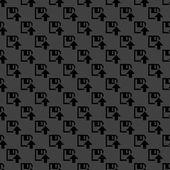 Floppy disk upload web icon. flat design. Seamless pattern. — Stock Vector