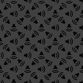 Speaker web icon. flat design. Seamless pattern. — Stock Vector