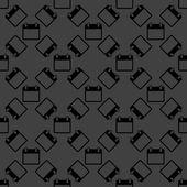 日历 web 图标。平面设计。无缝模式. — 图库矢量图片
