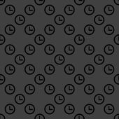 Watch web icon. flat design. Seamless pattern. — Stockvektor