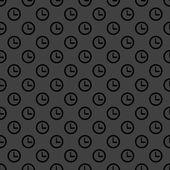 Watch web icon. flat design. Seamless pattern. — Stock Vector