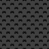 Ikony WWW joysticka gier. Płaska konstrukcja. wzór. — Wektor stockowy