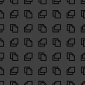 白紙の web アイコン。フラットなデザイン。シームレス パターン. — ストックベクタ