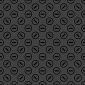 Minus web icon. flat design. Seamless pattern. — Stock Vector