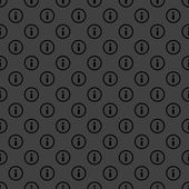 Info web icon. flat design. Seamless pattern. — Stock Vector