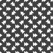 Multimedia control web icon. flat design. Seamless pattern. — Stock Vector