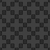 Calculator web icon. flat design. Seamless pattern. — Vetorial Stock