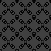 Ikona webové mobilní telefon. plochý design. bezešvé vzor. — Stock vektor