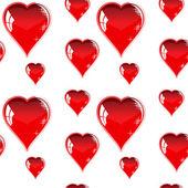Red heart — 图库矢量图片