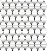 黒と白の三角形のパターン、背景 — ストックベクタ